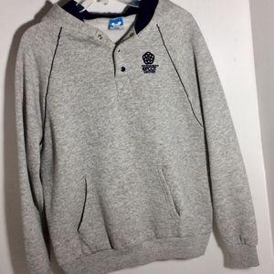 Epcot Disney Hoodie Grey Large